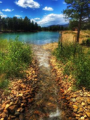 Photograph - Eagle Rock Lake Carson National Forest New Mexico  by Debra Martz