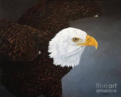 Eagle Painting - Eagle by Sid Ball