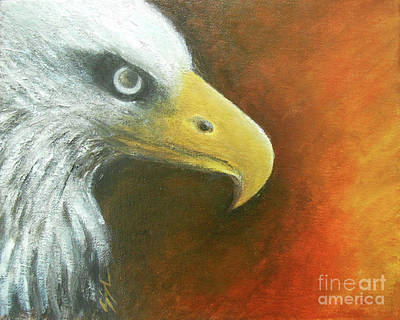 Painting - Eagle Spirit - Strength by Jane See