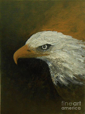 Painting - Eagle Spirit - Trust by Jane See