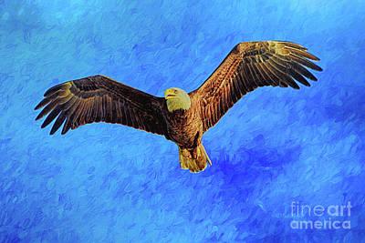 Eagle Strength And Spirit Print by Deborah Benoit
