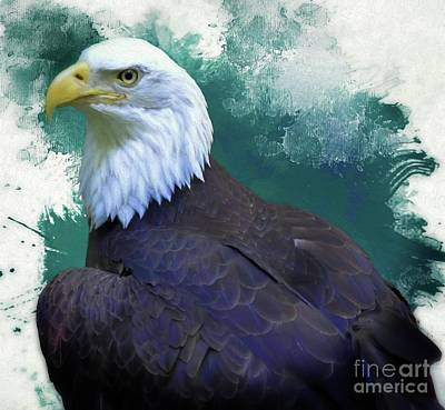 Digital Art - Eagle by Suzanne Handel