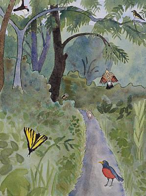 Eagle Trail Art Print by Alexandra Schaefers