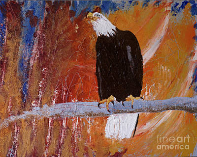 Painting - Eagle View by Sandra Silva