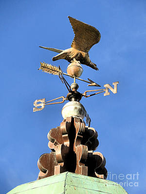 Eagle Weathervane Art Print