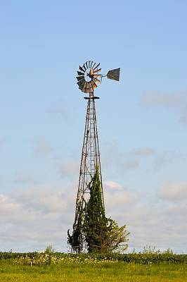 Photograph - Eagle Windmill by Bonfire Photography