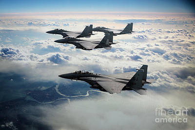 F15 Wall Art - Digital Art - Eagle Wing by J Biggadike