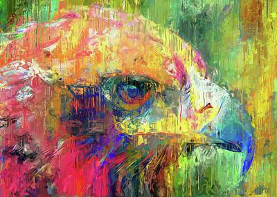 Digital Art - Eagle Wise by Yury Malkov