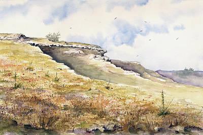 Painting - Eagles Beak Ridge by Sam Sidders