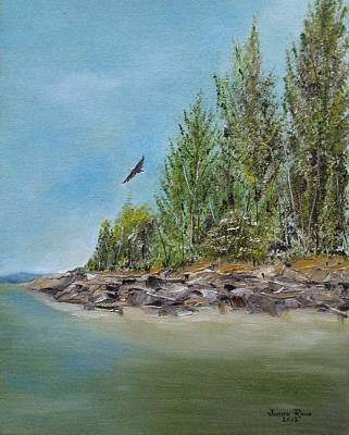 Painting - Eagle's Mere by Judith Rhue