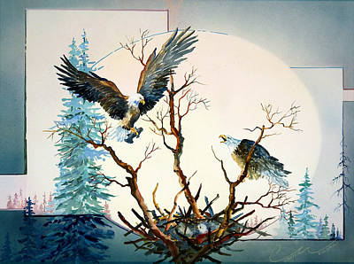 Painting - Eagles Nest by Connie Williams