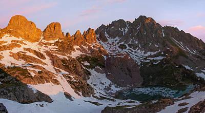 Gore Range Photograph - Eagles Nest Wilderness Sunrise by Aaron Spong