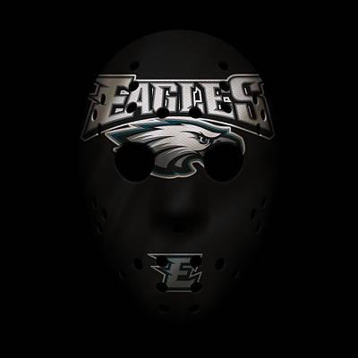Eagles Photograph - Eagles War Mask 2 by Joe Hamilton