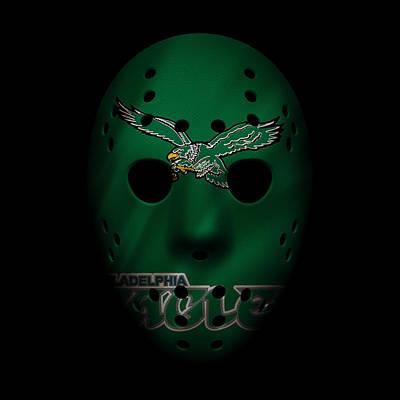 Photograph - Eagles War Mask 3 by Joe Hamilton