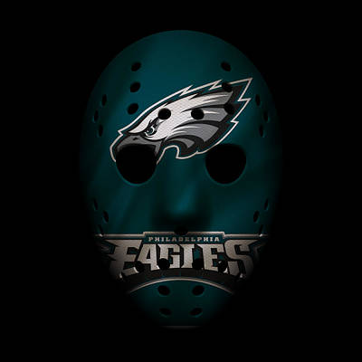 Photograph - Eagles War Mask by Joe Hamilton