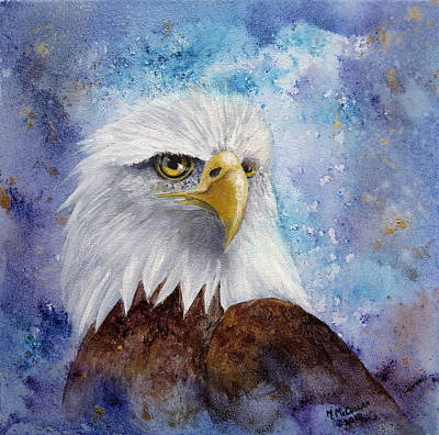 Painting - Eagle's Watch by Mary McCullah