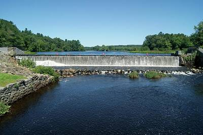 Photograph - Eagleville Dam, Connecticut  by David Birchall