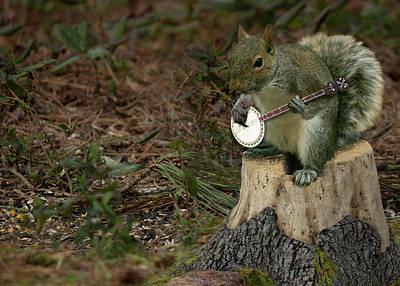 Photograph - Earl The Banjo Player by Sandra Clark
