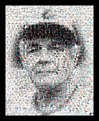 Photograph - Earl Weaver Mosaic by Paul Van Scott