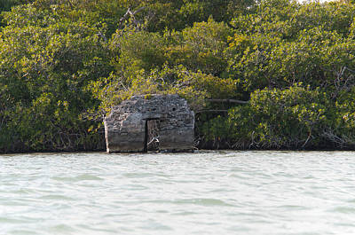 Digital Art - Earliest Mayan Lighthouse At Sian Ka'an Biosphere by Carol Ailles