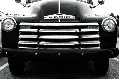 Old Chevy Truck Wall Art - Photograph - Early 1950s Chevy Work Truck by Jon Woodhams