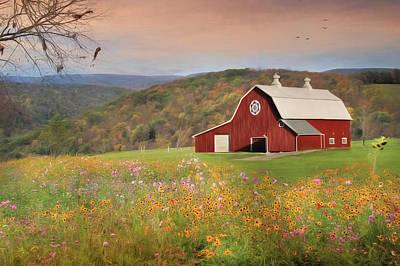 Early Autumn Breeze Original by Lori Deiter