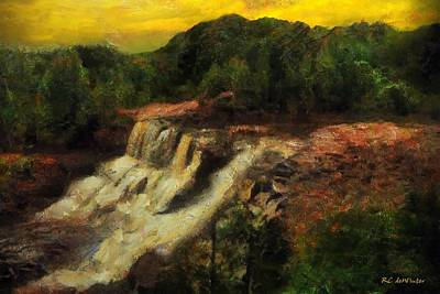 Painting - Early Autumn Gold by RC DeWinter