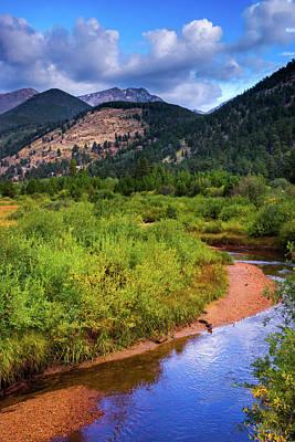 Photograph - Early Autumn In Colorado by John De Bord