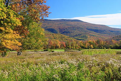 Photograph - Early Autumn In The Berkshires by John Burk