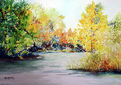 Painting - Early Autumn by Ken Marsden