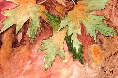 Painting - Early Autumn by Marsha Woods