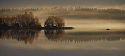 Early Autumn Morning Print by Pekka Ilari T