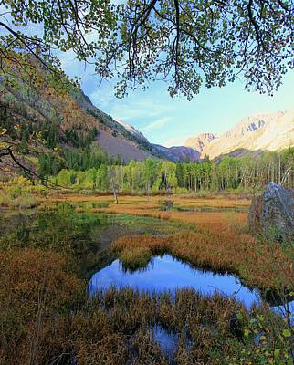 Photograph -  Early Autumn Portrait.....lundy Canyon by Sean Sarsfield