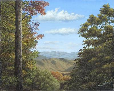 Wavra Wall Art - Painting - Early Autumn View by Robert Wavra