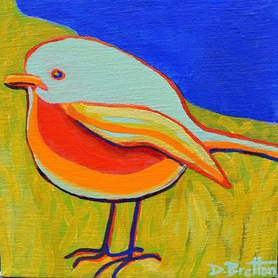 Painting - Early Bird by Debra Bretton Robinson