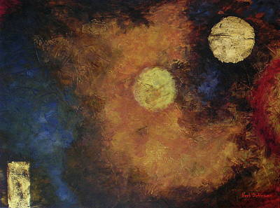 Free Form Painting - Early Elements by Herb Dickinson