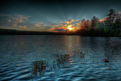 Photograph - Early Evening At Nicks Lake by David Patterson
