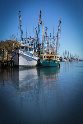 Photograph - Early Evening Harbor by Debra and Dave Vanderlaan
