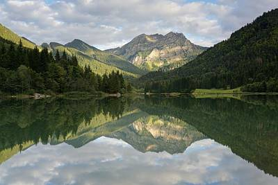 Photograph - Early Evening Light At Lac De Vallon by Stephen Taylor