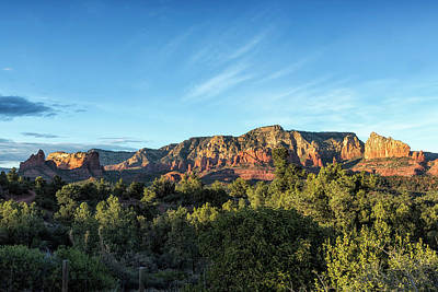 Photograph - Early Evening Light On The Red Rocks Of Sedona by Belinda Greb
