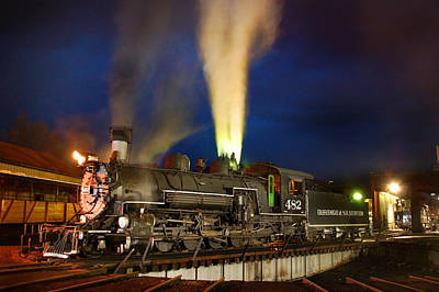 Durango Photograph - Early Evening On The Turntable by Ken Smith