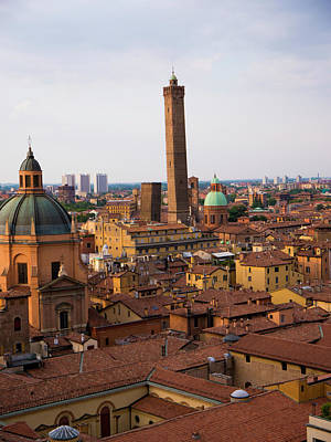 Photograph - Early Evening Over Bologna by Rae Tucker