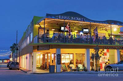 Photograph - Early Evening, Pass-a-grille, St. Pete Beach, Florida  -61599 by John Bald