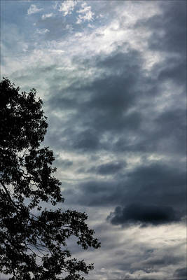 Photograph - Early Evening Sky by Robert Ullmann