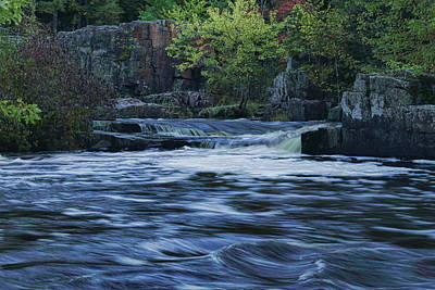 Photograph - Early Fall At Eau Claire Dells Park by Dale Kauzlaric