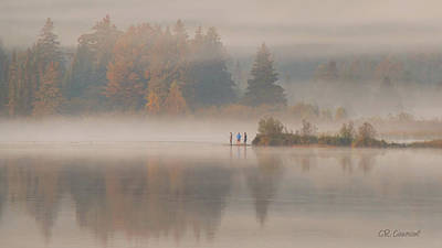 Photograph - Early Fall In Algonquin by CR Courson