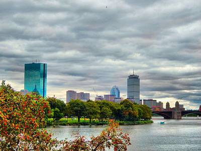 Photograph - Early Fall In Boston by Lilia D