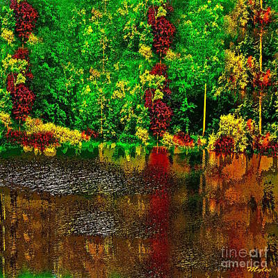 Painting - Early Fall by Saundra Myles