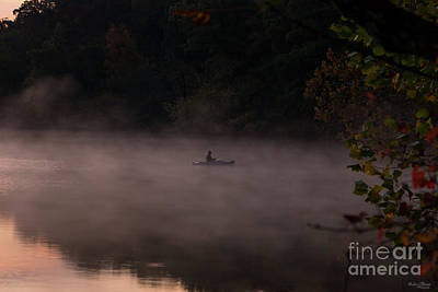 Photograph - Early Foggy Fishing by Jennifer White