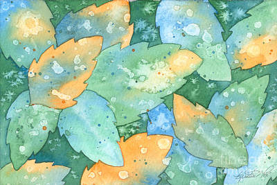 Painting - Early Frost Watercolor by Kristen Fox
